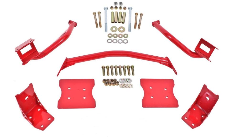 1979-04 Mustang tubular torque box reinforcement braces | ClassicCars