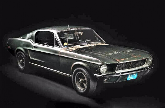 Steve McQueen 'Bullitt' Mustang to join the show at Amelia Island Concours
