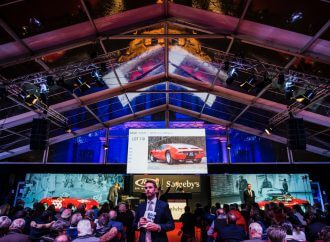 Modern supercars set the pace at RM Sotheby's Paris auction
