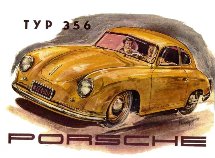 Portrait Of The Artist Who Launched Porsche S Graphic