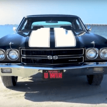 Giving away a flawless 1970 Chevelle SS396