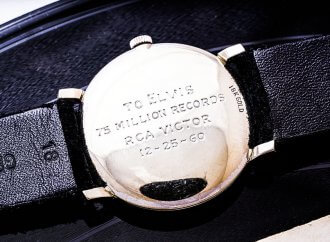 Elvis Presley engraved wristwatch to be auctioned in Geneva