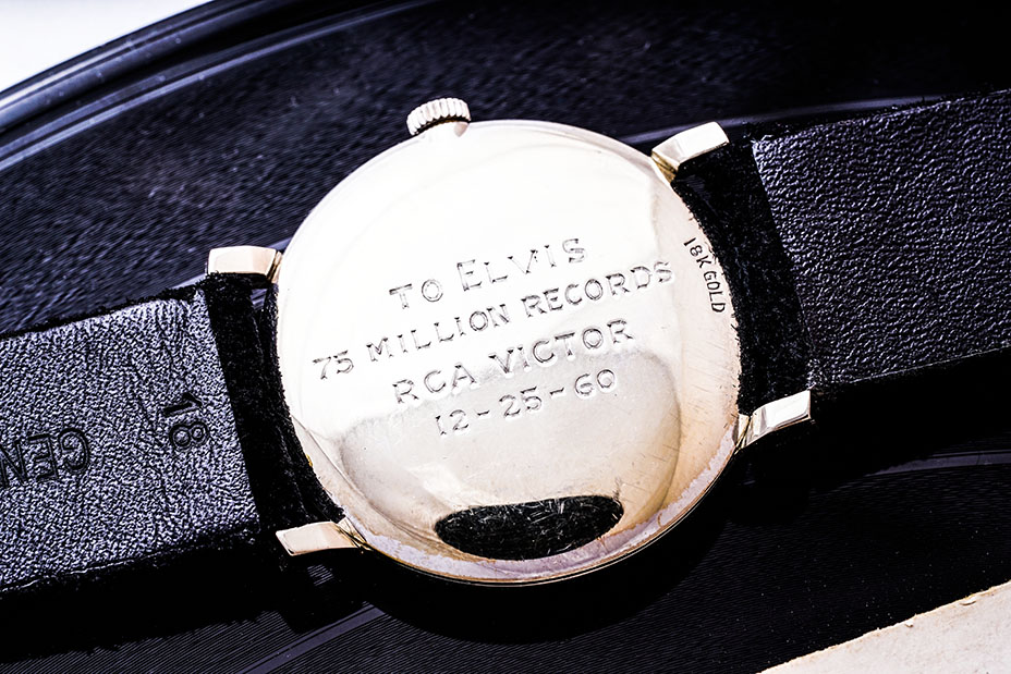 Elvis Presley engraved wristwatch to be auctioned in Geneva | ClassicCars