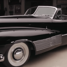 Jay Leno drives the original concept car: The Buick Y-Job