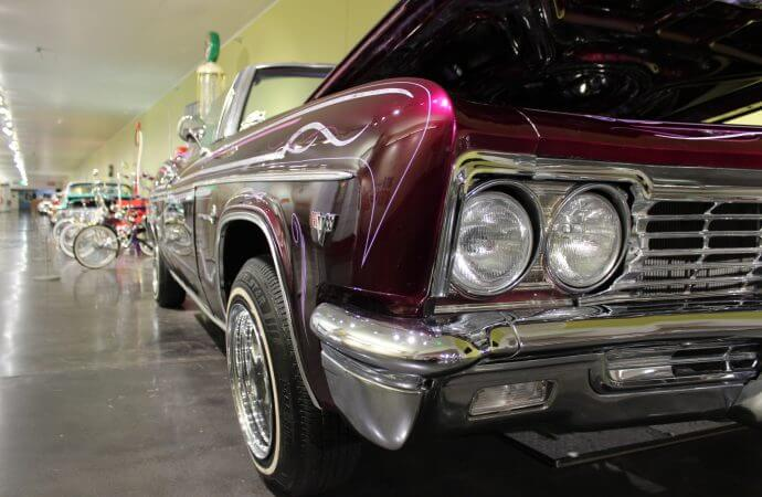 Lowriders on Route 66 featured at LeMay museum