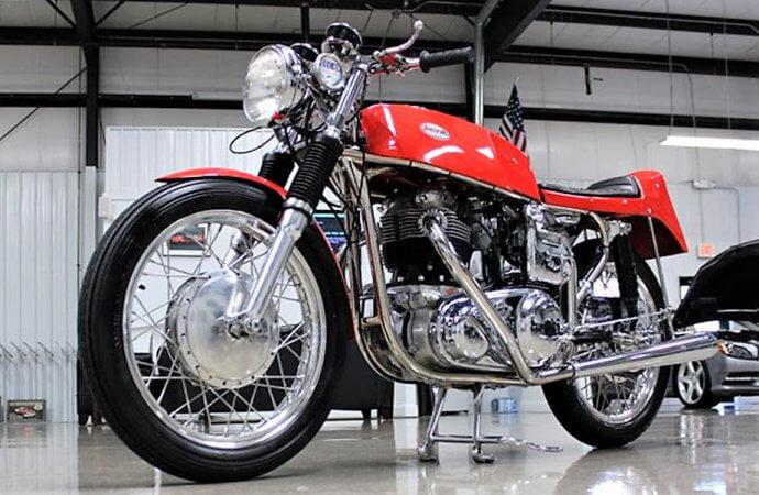 Dunstall-built 1969 Norton Atlas