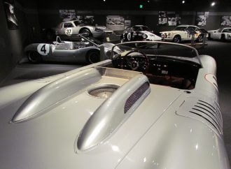 There's also a terrific Porsche exhibit on the East Coast