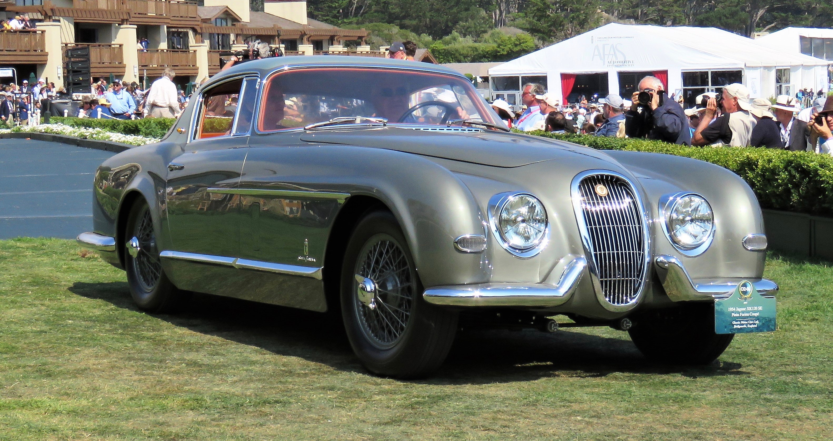 One-off Pininfarina XK120 makes British debut | ClassicCars.com Journal