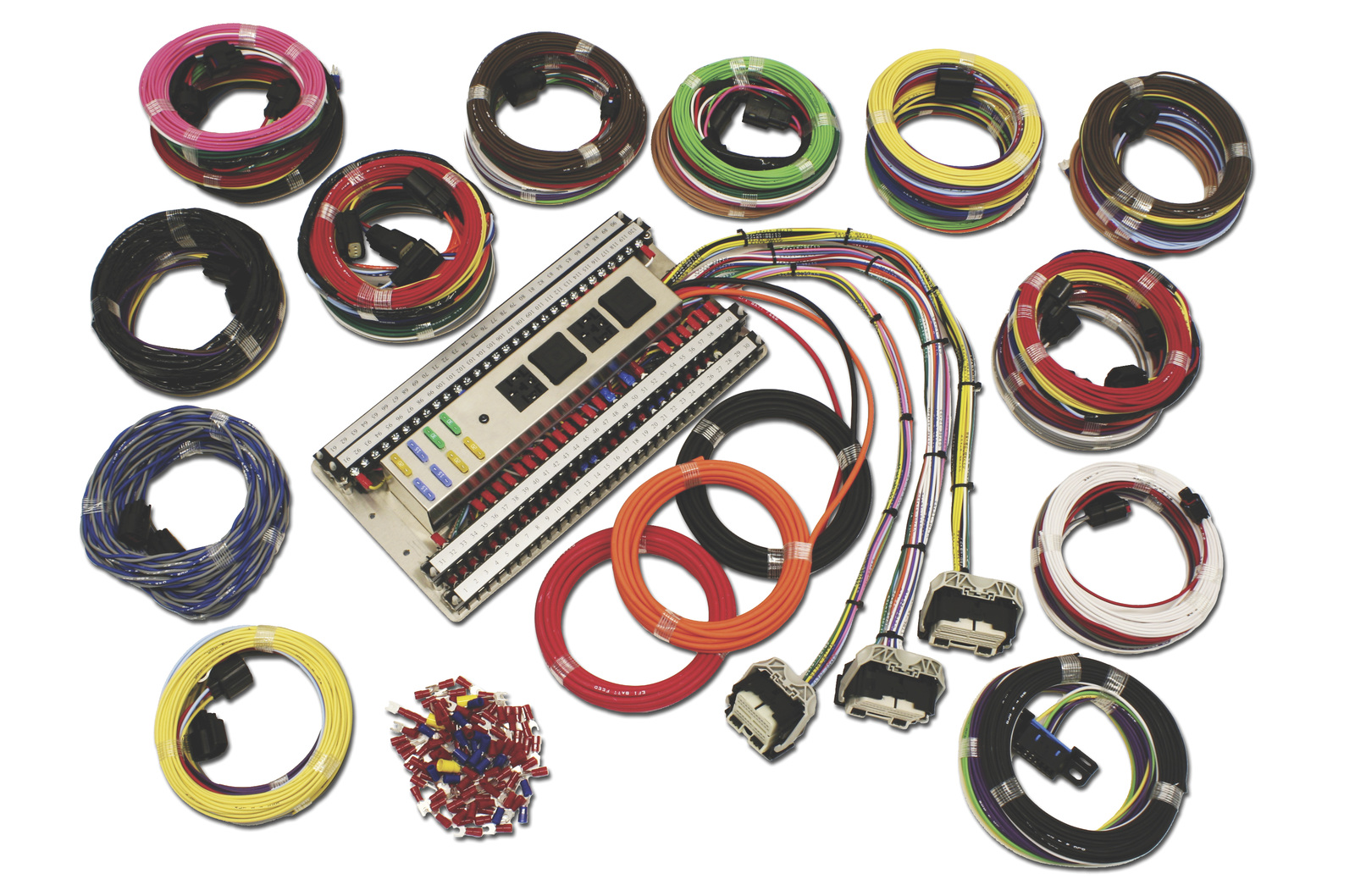 Ron Francis Wiring Complete Mustang Coyote 50 Kit Classiccars Bmw 850i Engine Harness Kits From