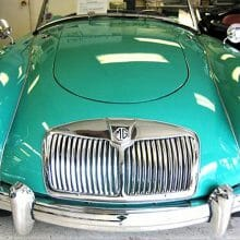 Rare early color 1956 MGA roadster