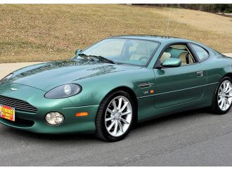 V12-powered Aston Martin DB7 Vantage