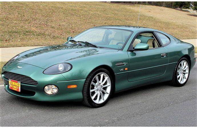 V12-powered Aston Martin DB7 Vantage