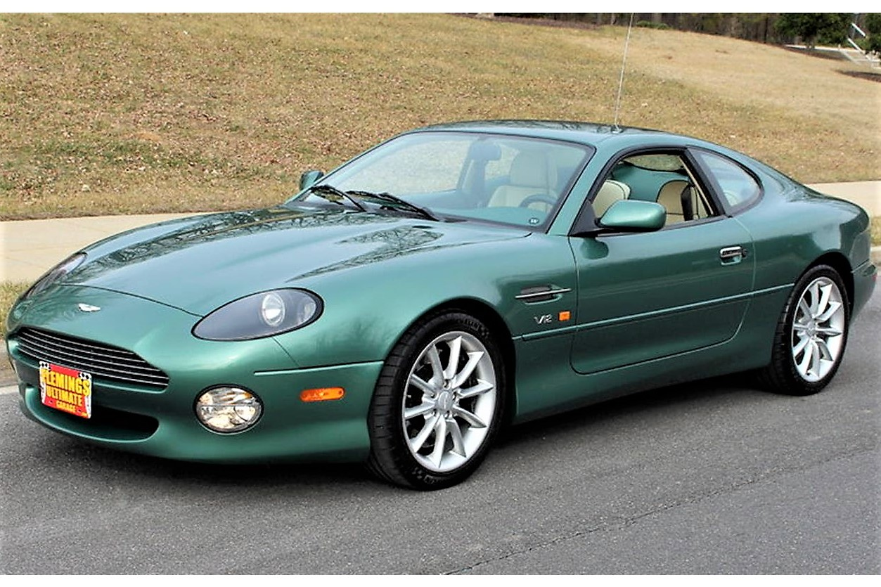 v12-powered aston martin db7 vantage - classiccars journal