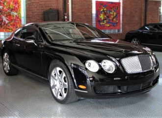 Superfine supercar: 2006 Bentley Continental GT coupe