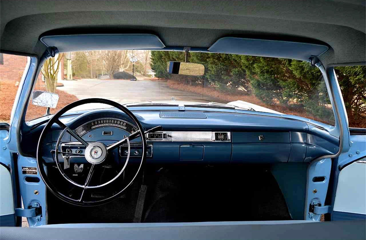 Blue 1957 Ford Custom 300 dashboard | ClassicCars.com Journal