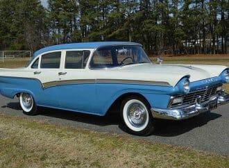 Low-mileage 1957 Ford survivor
