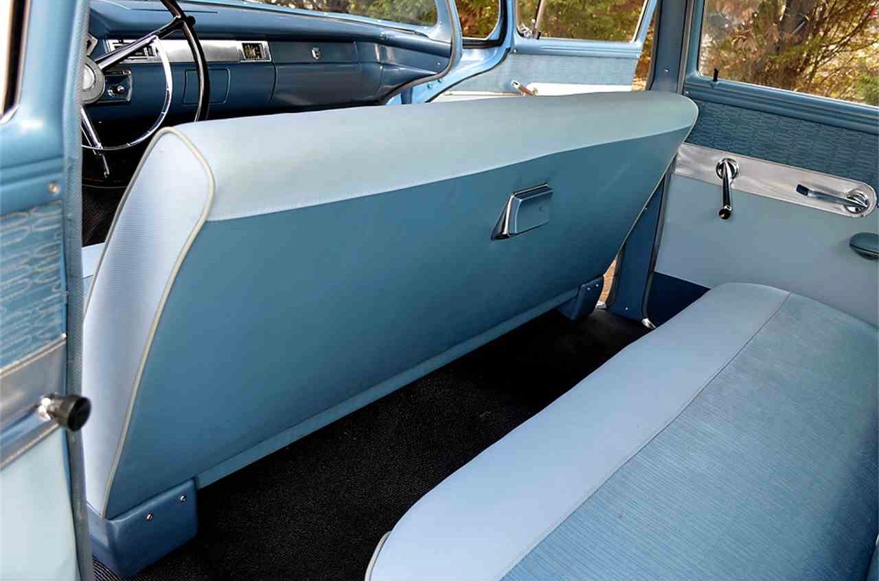 Blue 1957 Ford Custom 300 upholstery | ClassicCars.com Journal