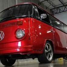Birthday party van: VW Microbus