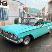'60 Chevy El Camino in Tasco Turquoise