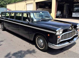 Long, long 1969 Checker Aerobus