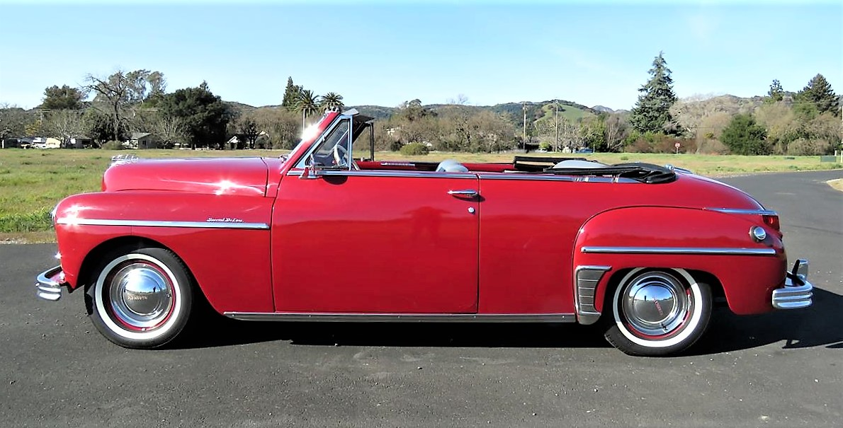 Top-down 1949 Plymouth DeLuxe | ClassicCars.com Journal