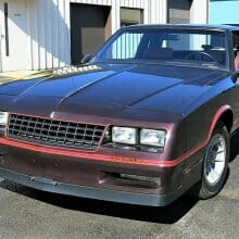 Low-miles survivor 1986 Chevy Monte Carlo SS