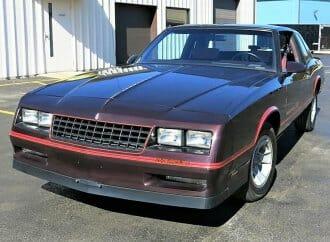 Low-miles survivor 1986 Chevy Monte Carlo SS