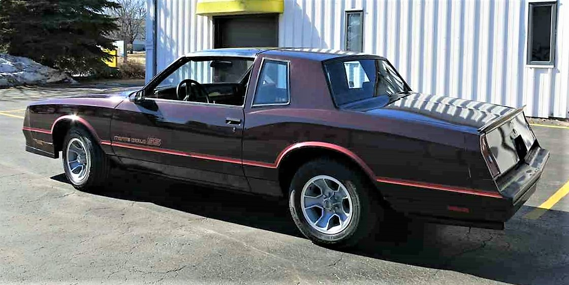 low miles survivor 1986 chevy monte carlo ss classiccars. Black Bedroom Furniture Sets. Home Design Ideas