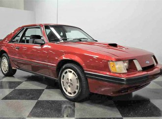 Turbo-4 1986 Ford Mustang SVO