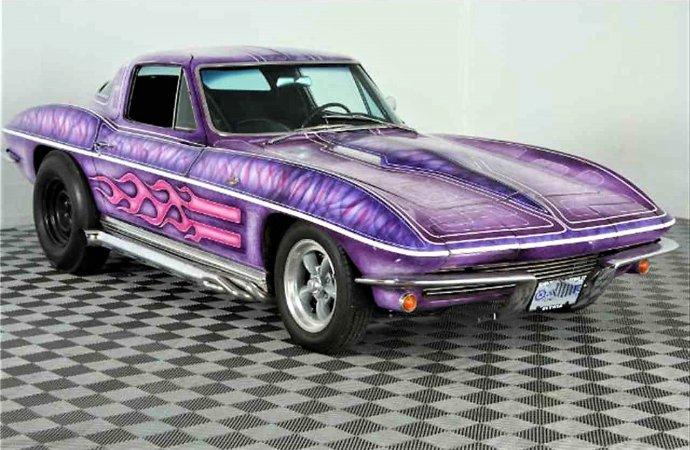 Vintage paint 1964 Corvette L76