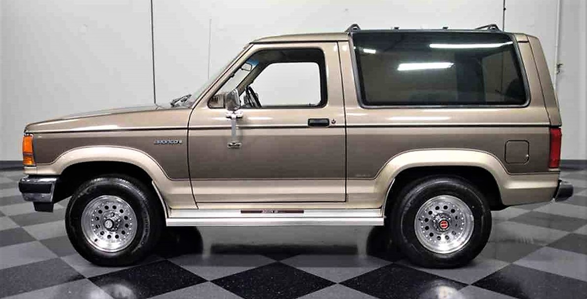 Luxurious 1990 Ford Bronco II - ClassicCars.com Journal