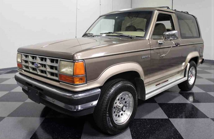 Luxurious 1990 Ford Bronco II