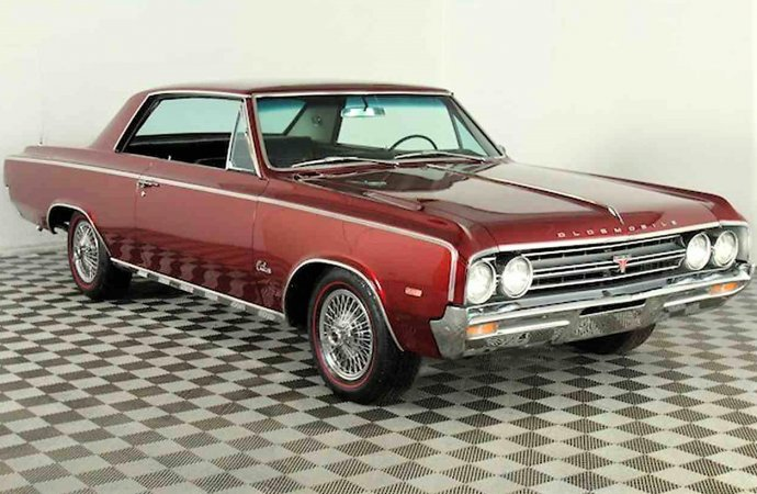 First-year 1964 Oldsmobile 4-4-2