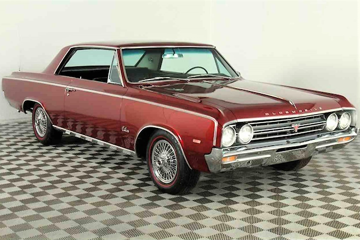 first year 1964 oldsmobile 4 4 2