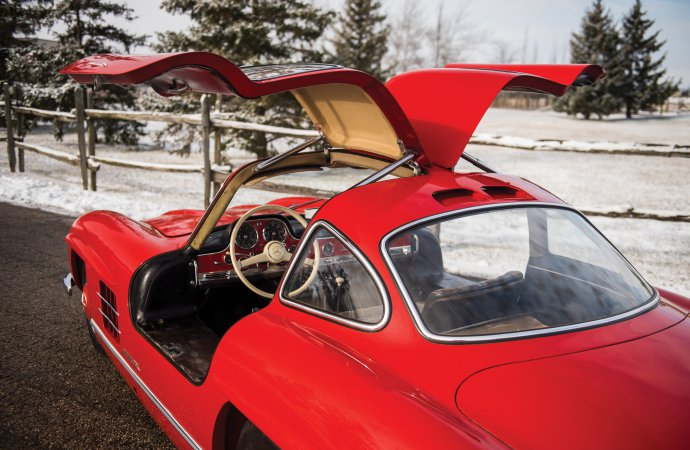 Unrestored 'Gullwing' going from museum to auction