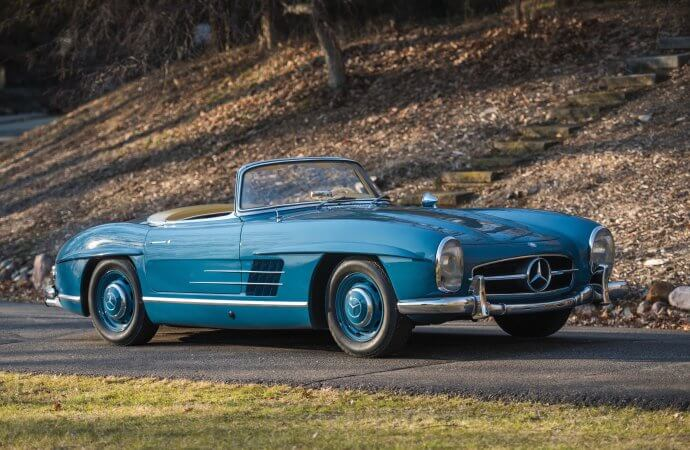 300 SL roadster heads 4-car consignment for Fort Lauderdale
