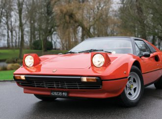 Gilles Villeneuve's 308 GTS, gift from Enzo, joins Monaco docket
