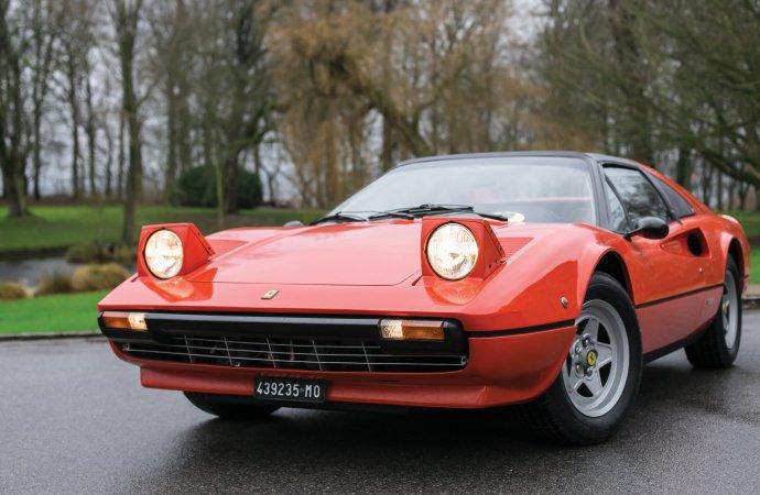 Gilles Villeneuve's 308 GTS, gift from Enzo, joins Monaco docket
