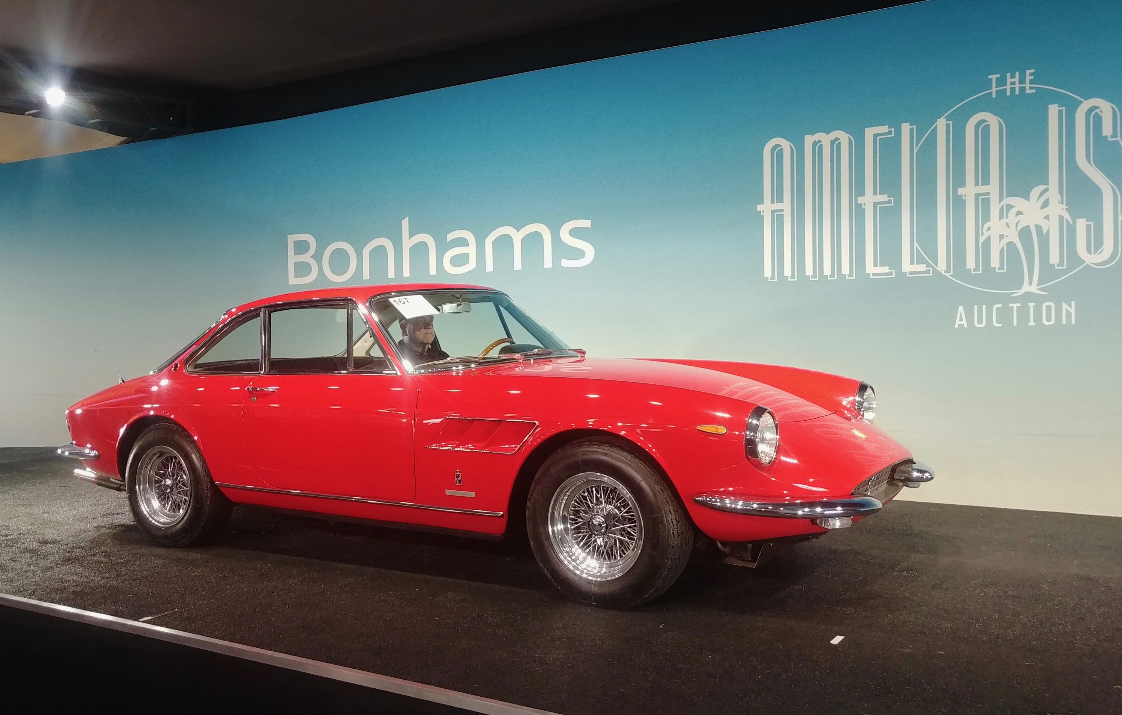 Bonhams opens Amelia auctions with strong showing | ClassicCars.com