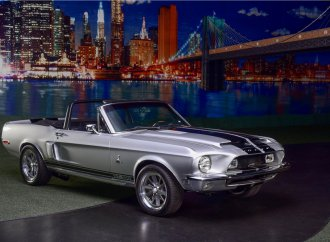 Barrett-Jackson Countdown: 1968 Shelby GT500 Ford Mustang convertible