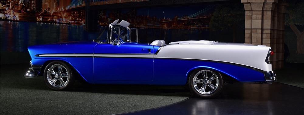 Bel Air, Barrett-Jackson Countdown: 1956 Chevrolet Bel Air custom, ClassicCars.com Journal