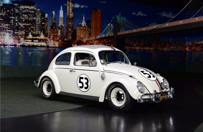 Barrett-Jackson Countdown: 1963 VW Beetle 'Herbie'