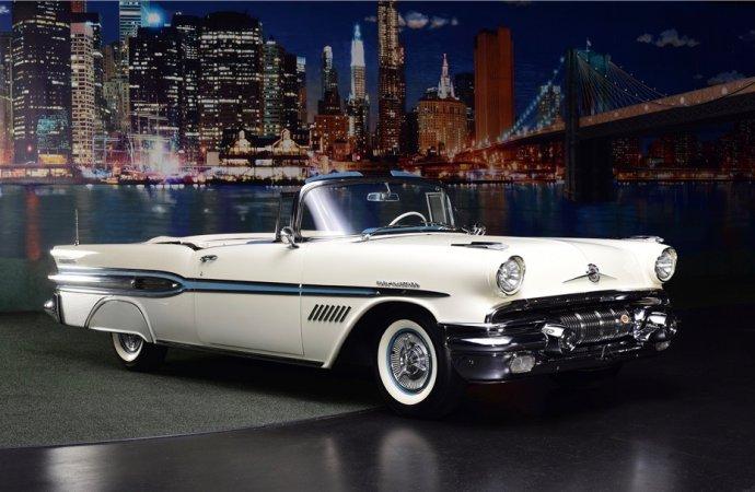 Barrett-Jackson Countdown: 1957 Pontiac Bonneville convertible