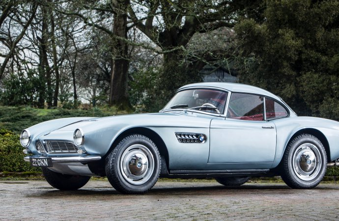 Surtees' BMW 507 going to auction