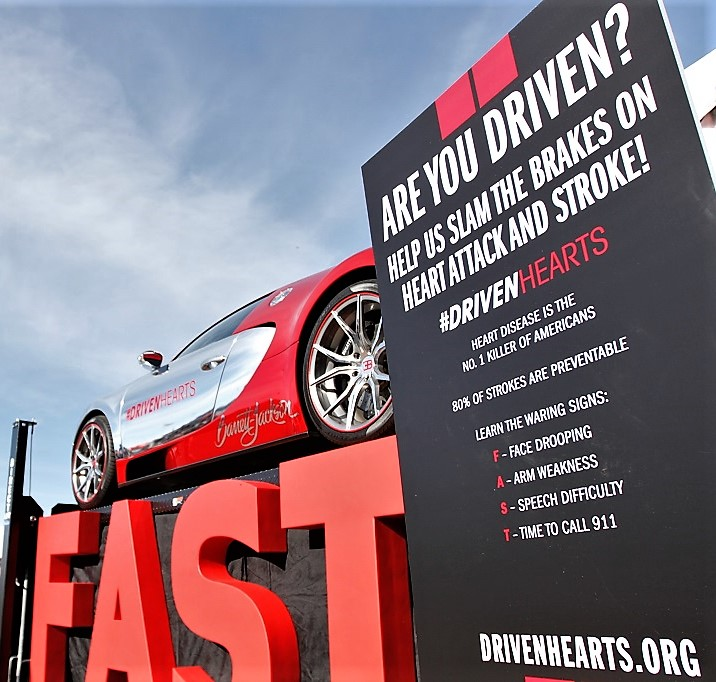 Barrett-Jackson, Barrett-Jackson boosts campaign to fight heart disease and stroke, ClassicCars.com Journal