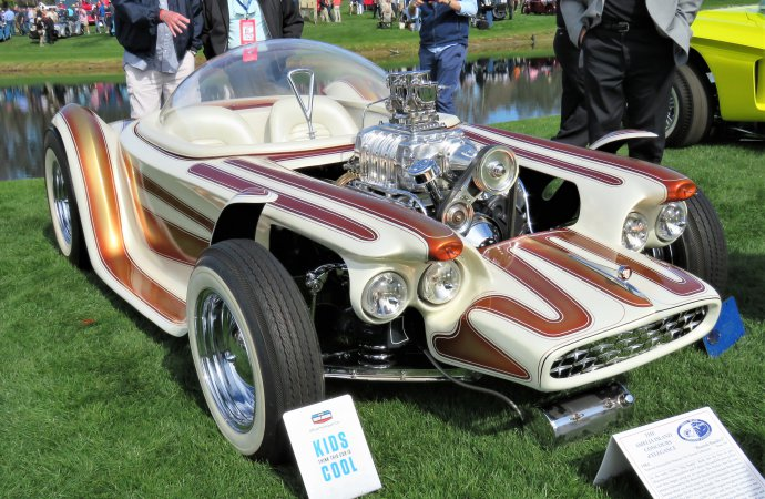 Beatnik Bandit, dream comes true at the Amelia Island Concours
