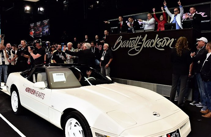 Barrett-Jackson boosts campaign to fight heart disease and stroke