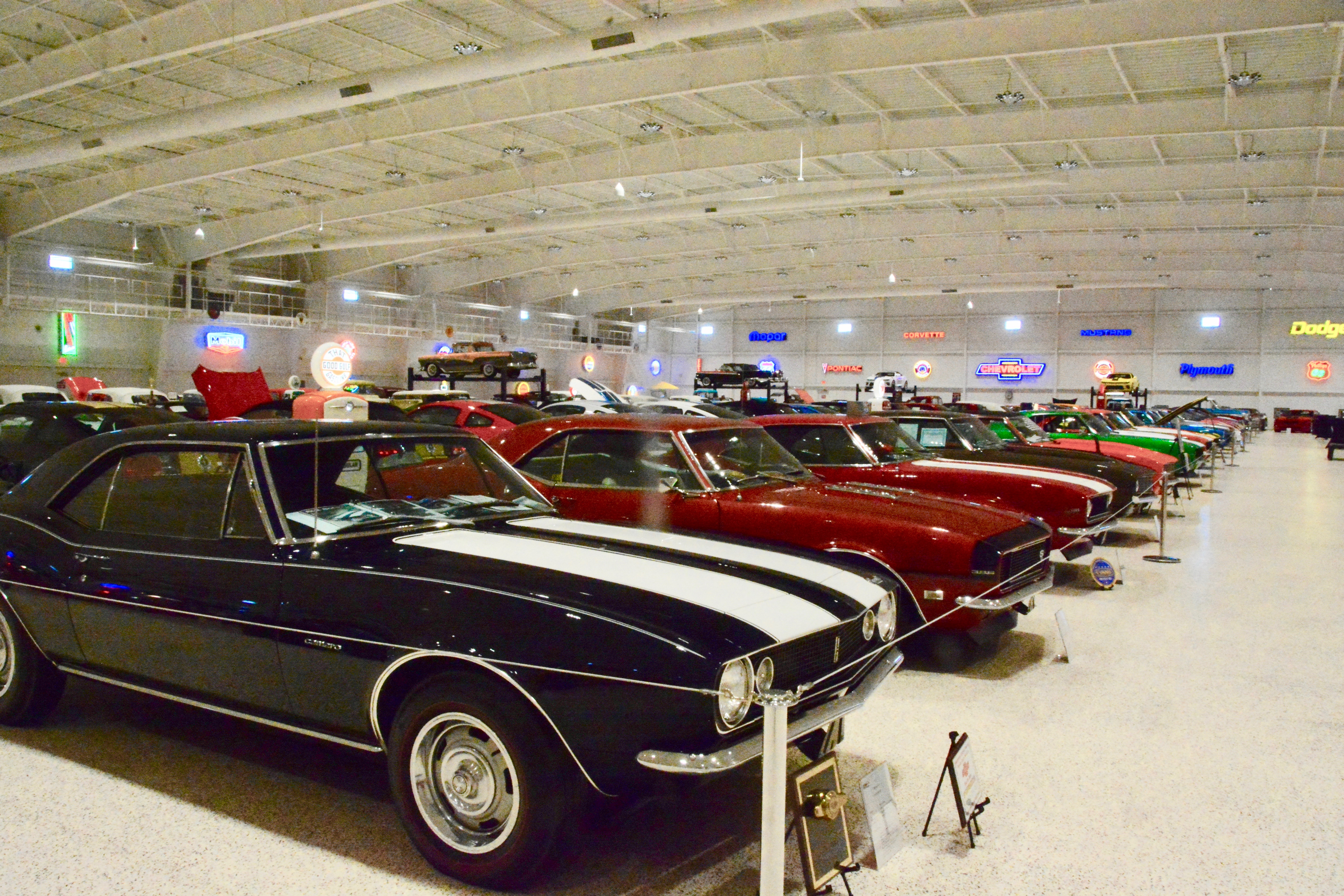 You need to be invited to visit America\'s Muscle Car Museum ...
