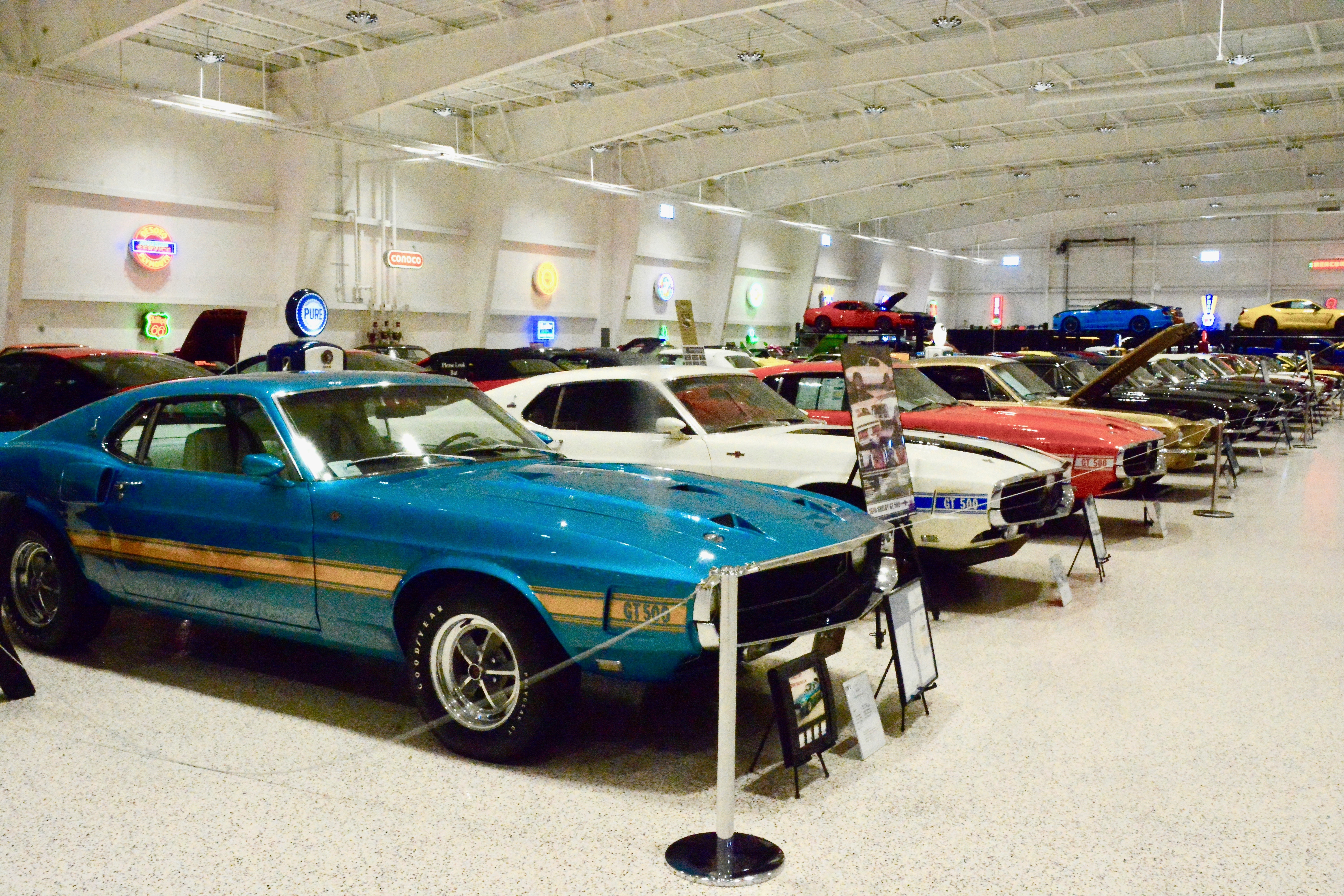 You need to be invited to visit America\'s Muscle Car Museum