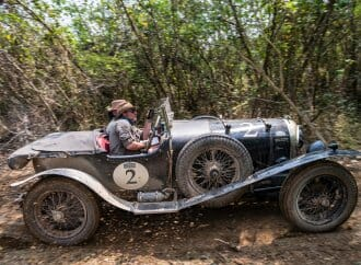 '25 Bentley sets the pace in Road to Saigon vintage rally